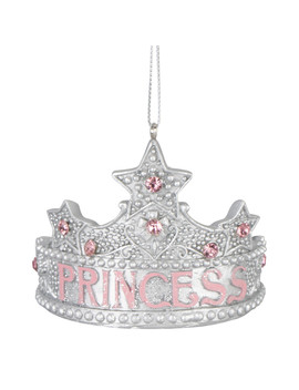 Hanging Princess Crown by Pink Ice