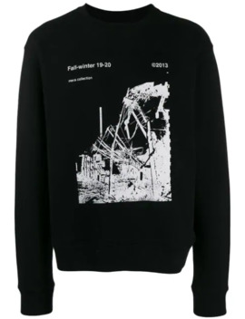 ruined-factory-sweatshirt by off-white