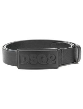 logo-plaque-belt by dsquared2