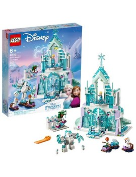 lego-disney-princess-elsas-magical-ice-palace-43172-toy-castle-building-kit-with-mini-dolls by lego