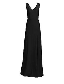 v-neck-column-gown by alexander-mcqueen