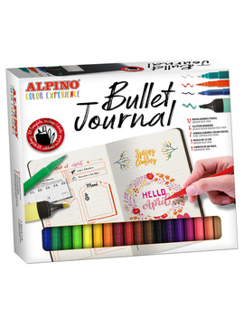 Set Color Experience Bullet Journal Kit Alpino by Alpino