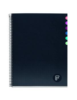 Cuaderno Microperforado Frost A4 140 Hojas Cuadrícula 5x5 Mm Tapa Extradura Multiasignatura by Frost
