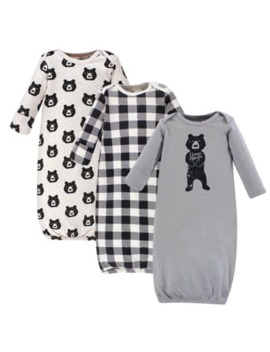 yoga-sprout®-3-piece-bear-hugs-gown-set by yoga-sprout