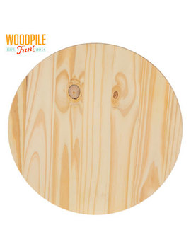 Round Pine Wood Disc by Hobby Lobby