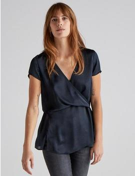 Billie Wrap Top by Lucky Brand