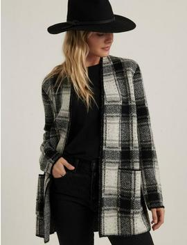 Plaid Cardigan by Lucky Brand