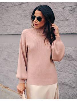 kyra-ribbed-mock-neck-sweater by vici