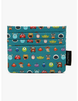 loungefly-disney-pixar-all-cast-cardholder---boxlunch-exclusive by boxlunch