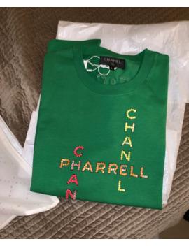 chanel-x-pharrell-green-t-shirt-*rare* by chanel  ×  pharrell  ×