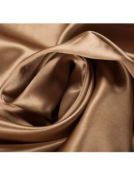 premium-quality-silk-satin-designer-gold-smooth-material-fashion-upholstery-vintage-design-clothing-textiles-fabric-sample-available by etsy