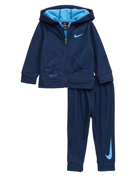 dry-mesh-print-zip-hoodie-&-sweatpants-set by nike
