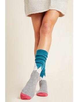 mountain-knee-high-socks by catherine-tough