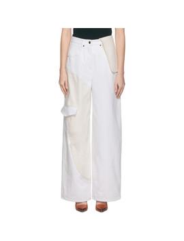 white-&-off-white-le-jean-de-nîmes-jeans by jacquemus