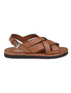 leather-flatform-sandals by prada