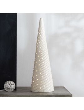 "led-21""-white-ceramic-tree by crate&barrel"