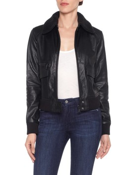 billie-faux-shearling-collar-leather-jacket by joes-jeans