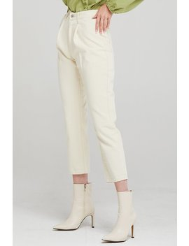 Eva Pintuck Tapered Leg Pants by Storets