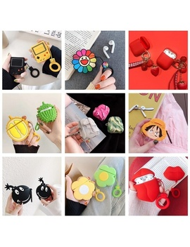 new-1-pcs-airpods-case-cover-3d-cute-cartoon-silicone-case-for-apple-airpods-accessories(only-case,not-include-airpods) by wish