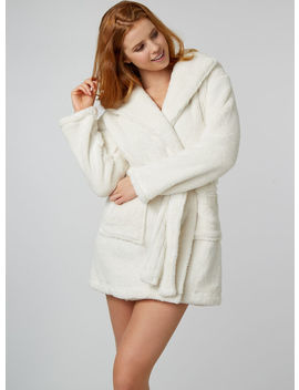 Cat Hooded Dressing Gown by Bouxavenue
