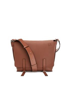 Military Messenger Bag       Cognac by Loewe