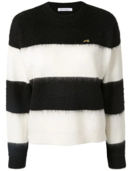 striped-long-sleeve-sweater by bella-freud