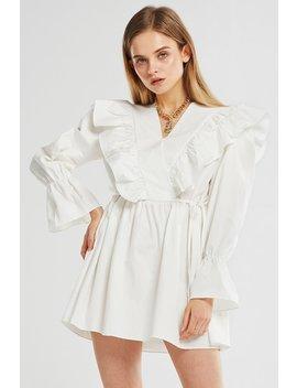 Olivia Ruffle Tunic Dress by Storets