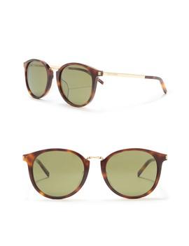 54mm-round-sunglasses by saint-laurent