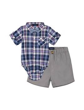 bodysuit,-shorts-&-bow-tie-set by andy-&-evan