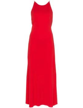 crossover-strap-maxi-dress by rosetta-getty