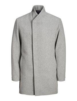 høj-hals-uld-frakke by jack-&-jones