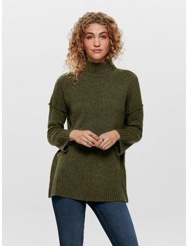 lang-strikket-pullover by only
