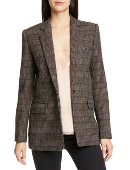 houli-plaid-blazer by iro