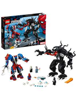 lego-super-heroes-marvel-spider-mech-vs-venom-76115-building-kit by lego
