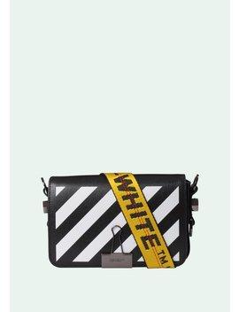Black Diag Mini Flap Bag by Off White