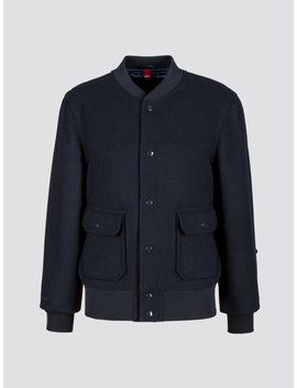 Exclusive A 1 Wool Flight Jacket by Alpha Industries