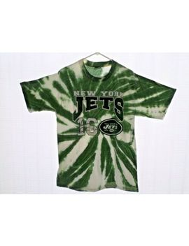 vintage-ny-jets-tie-dye-vinny-testaverde-signature-tee-shirt by all-sports-events
