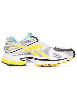 Vetements          Vetements X Reebok Spike 200 Sneakers Blue by Vetements
