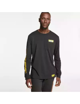 Sponge Bob Square Pants X Timberland Long Sleeve Graphic T Shirt by Timberland