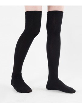 Thigh High Cotton Sock by Mixxmix