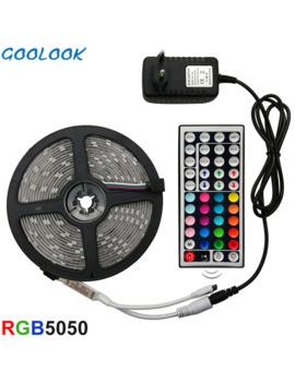 led-strip-light-rgb-5050-smd-2835-flexible-ribbon-fita-led-light-strip-rgb-5m-10m-15m-tape-diode-dc-12v+-remote-control-+adapter by aliexpresscom
