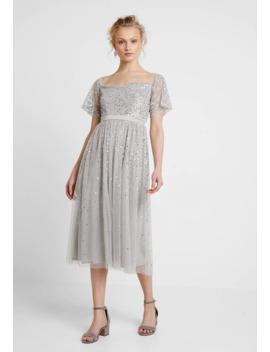 all-over-scattered-embellishedbardot-midi-dress---sukienka-koktajlowa by maya-deluxe