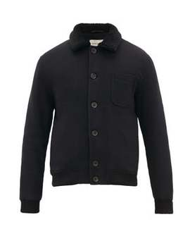 foxham-quilted-wool-and-cotton-blend-jacket by oliver-spencer