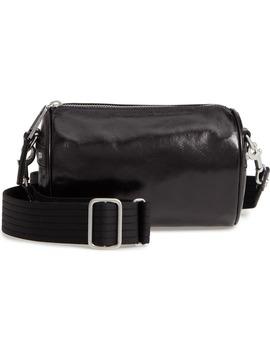 jamie-leather-barrel-crossbody-bag by treasure-&-bond