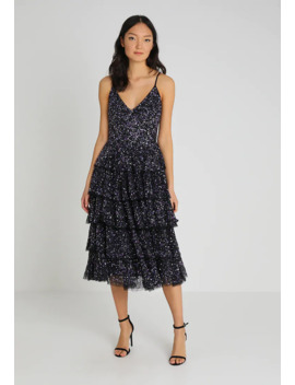 tiered-midi-dress-with-sequin-embellishment---sukienka-koktajlowa by maya-deluxe