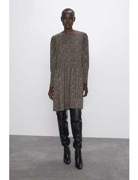 løs-kjole-med-mønster by zara