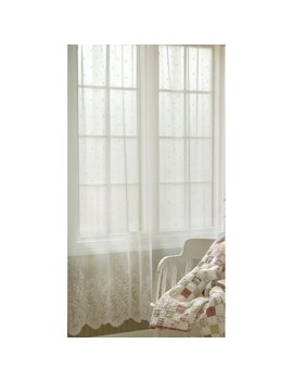 victor-nature_floral-sheer-rod-pocket-curtain by astoria-grand