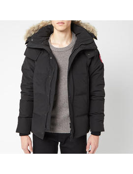 Canada Goose Men's Wyndham Parka Jacket   Black by Canada Goose