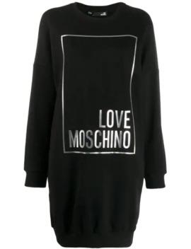 oversized-hoodie-dress by love-moschino