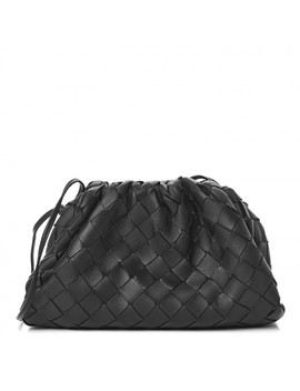 bottega-veneta-nappa-intrecciato-the-pouch-20-black by bottega-veneta